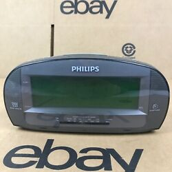 Philips AJ3540/37 Large Display Digital AM/FM Alarm Clock Radio - Tested 2.K1