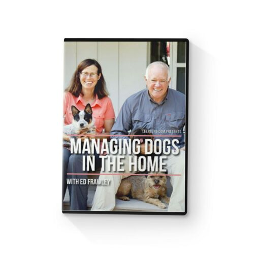 Managing Dogs In The Home DVD by Leerburg