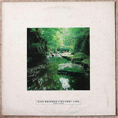 "Rick Wakeman ""Country Airs"" Coda Records NAGE 11 1986"