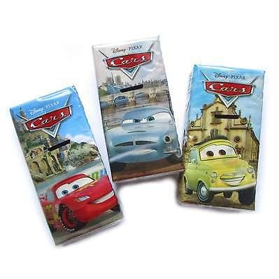 3 Päckchen Mix B Cars Car Autos Taschentücher á 9 Taschentuch weiß bunt bedruckt