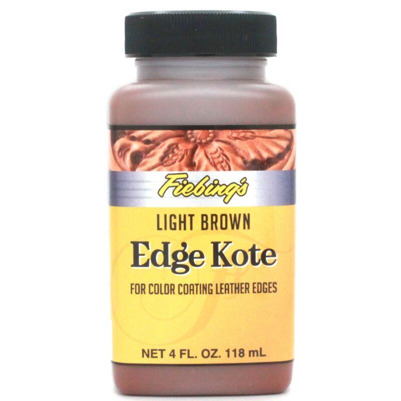 Light Brown Edge Kote 4 oz (118 ml) 2225-03