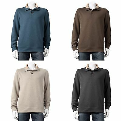 Arrow Pullover Mens Big & Tall Fleece Classic Fit Sherpa Lined Neck Sweatshirt