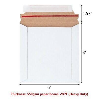 Ksk Bubble 6 X 8 Rigid Mailers Flat Boardpaper Board Mailers Heavy Duty
