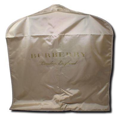 "Burberry London England Tan Nylon Garment Bag 50"" Long x 24"""