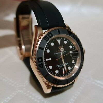 Rolex Yacht-Master 40 Men's Oyster Perpetual Date Gold - Black