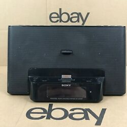 Sony ICF-CS15ip Dream Machine Speaker Docking Clock Radio iPod iPhone 8.B2