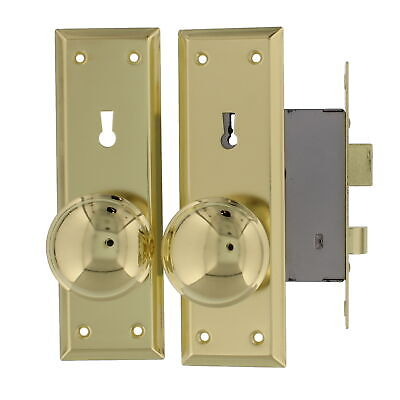 Ultra Security 44609 Old Time Mortise Lock With Skeleton Key