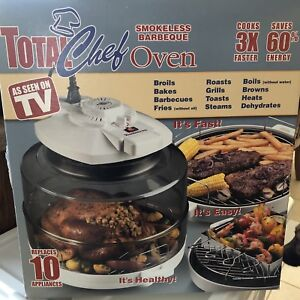 TOTAL CHEF SMOKELESS BBQ OVEN