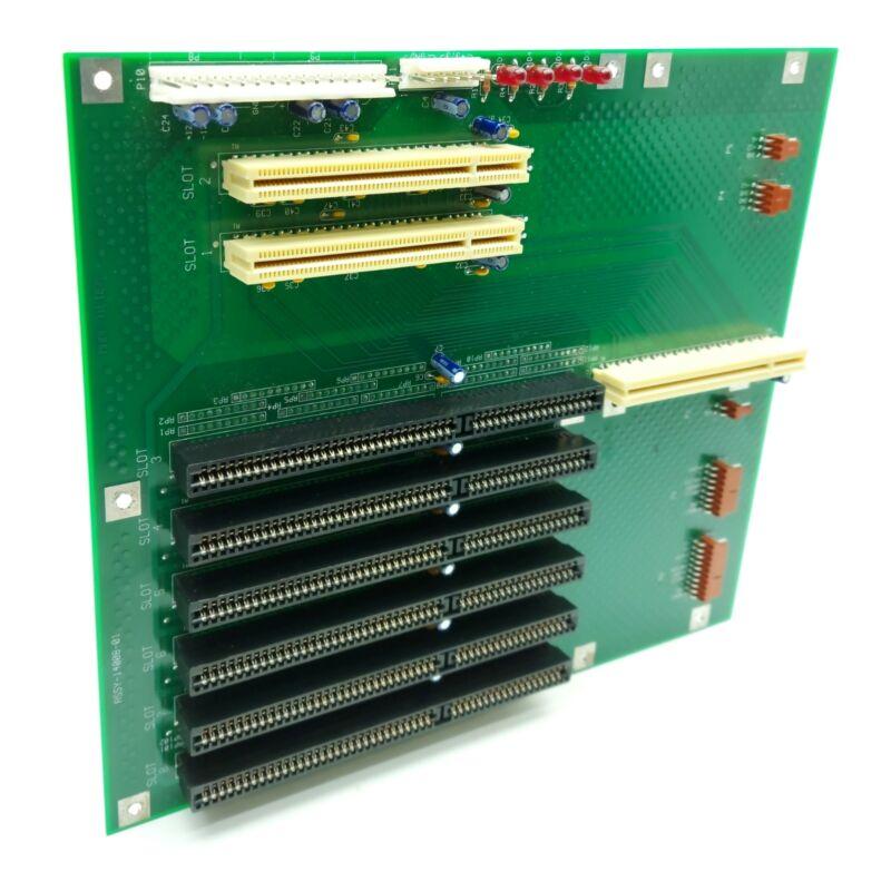 ICS 14008-01 Industrial Single Computer Backplane AT, 5x ISA, 2x PCI, PICMG 1.0