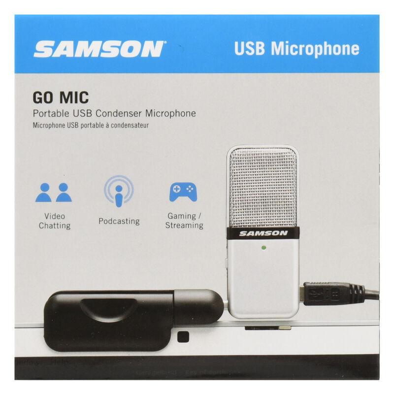 Samson SAGOMICWM Go Mic Portable USB Microphone with Software GA