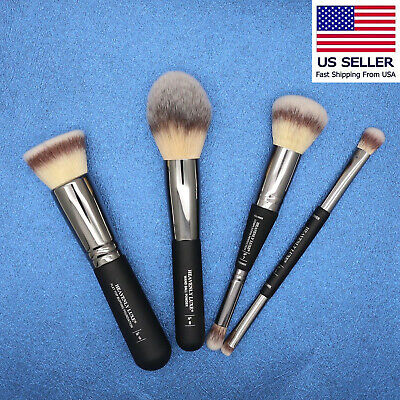 Cosmetics Heavenly Luxe DualEnd Complexion Perfection Powder Foundation Brush