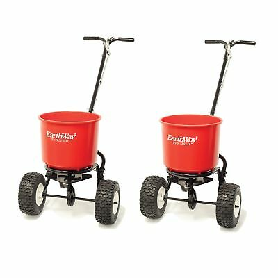 Earthway 2600a Plus Commercial 40 Lb Capacity Seed Fertilizer Spreader 2 Pack