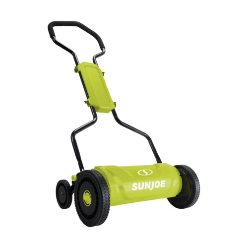 "Sun Joe 18"" Quad-Wheel, 5-Position Razor Sharp Cutting Blade"