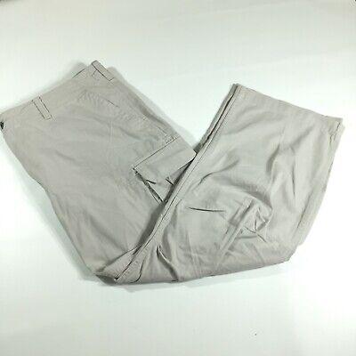 Ralph Lauren Polo Jeans Co. Men's Sz 42x30 Beige Cargo Pants Military Surplus