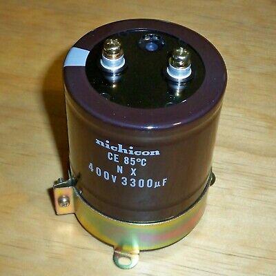Nichicon 400v 3300uf Aluminum Electrolytic Capacitor