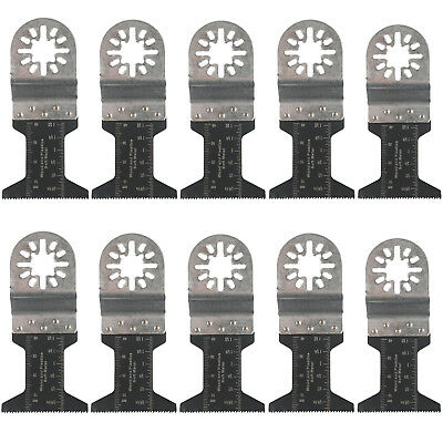 New 10 Pcs Bi-metal Oscillating Multitool 1 34 Saw Blade Fein Multimaster Us
