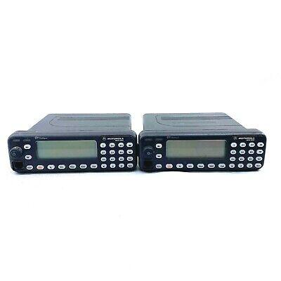 Motorola Mcs2000 Iii Flashport Two-way Radio 800mhz M01hx832w Untested