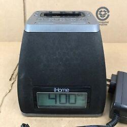 iHome iP21 iPhone/iPod Docking Station Alarm Clock Speaker 30 Pin Dock 7.M1
