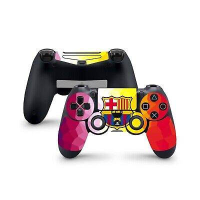 PS4 Controller Skin Wrap BARCELONA Decal Stickers Dualshock 4 Sony Playstation