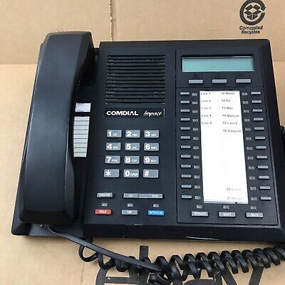 Comdial Impact 8024s-gt Phone Black 2.c2