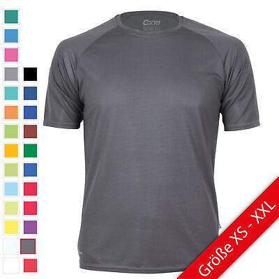 Basic Tee (Cona Basic Tech Tee Funktionsshirt Herren T-Shirt Sport Shirt XS - XXL NEU)