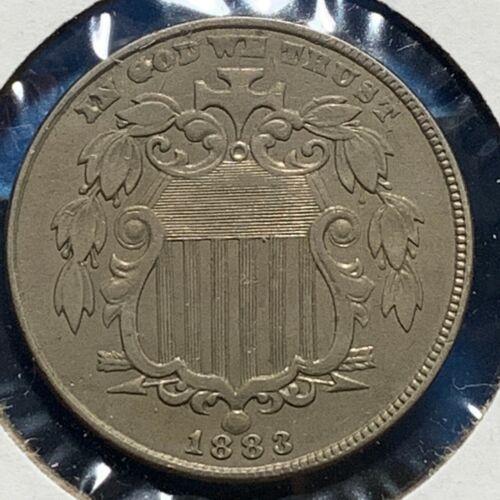 1883 5C Shield Nickel (52210)