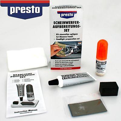 PRESTO Scheinwerfer-Aufbereitungs-Set Reparatur Politur 365171