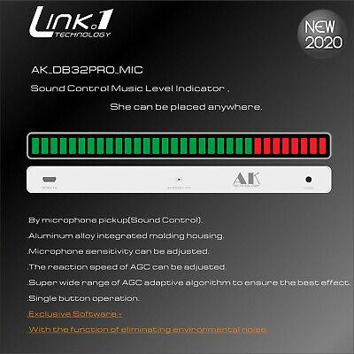 32bit Sound Control Level Indicator Led Music Vu Meter Light Car Audio Spectrum