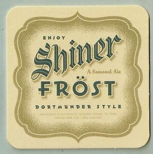 16-Shiner-Frost-A-Seasonal-Ale-Beer-Coasters
