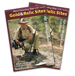 Gold Prospecting NSW Map Collection