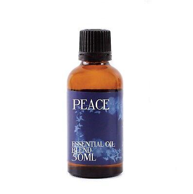 Mystix London Paz Aceites Esenciales - 100% Puro - 50ml (EOB50PEAC)