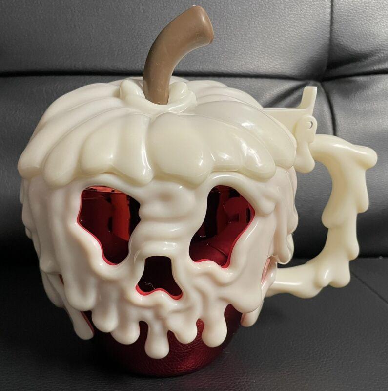 Disneyland Red Poison Apple Cup Mug Stein Disneyland Park 2021 BRAND NEW