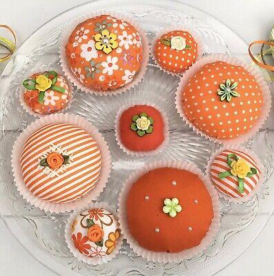 9 Muffins Pralinen Tilda Halloween Dekoration Cupcake Shabby Landhaus Geschenk