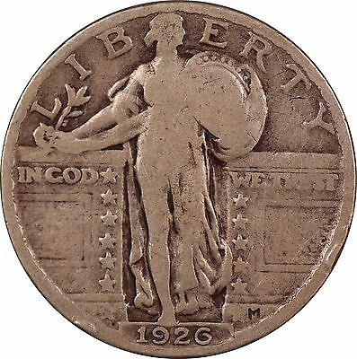 1926-P Standing Liberty Quarter - G/VG (Good / Very Good)