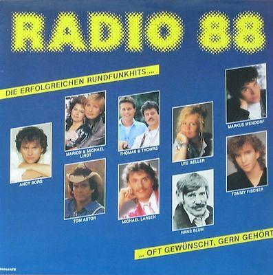 Radio 88 - Die erfolgreichen Rundfunkhits: Tom Astor, Andy Borg (Vinyl-LP 1988)