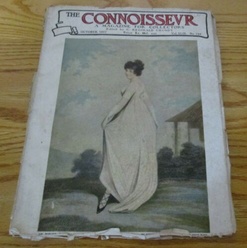 The Connoisseur October 1917 Magazine for Collectors
