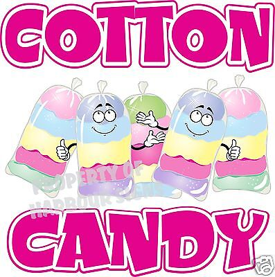 Fairy Food Candy - Cotton Candy Decal 24