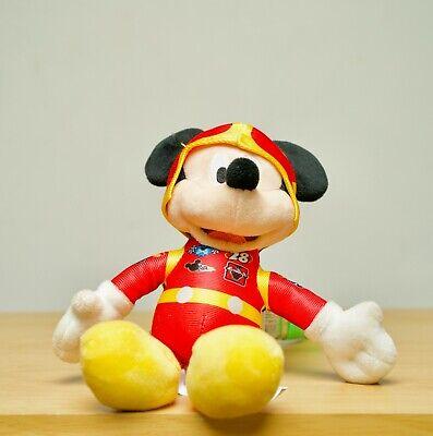 VNTG Disney Parks Store Mickey Mouse Roadster Racer Plush Stuffed Animal Figure