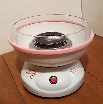 Back To Basics Cotton Candy Maker Model Cc18177 Previously Owned
