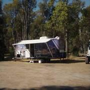 Caravan toilet shower air con 18 ft - unique Myalup Harvey Area Preview