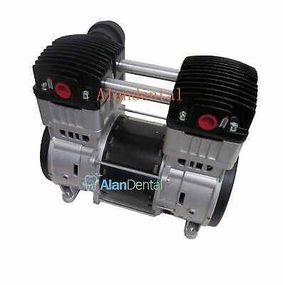 Greeloy 1600w Mini 2 Hp Silent Oil Free Oilless Air Compressor Motor Pump Gm1600