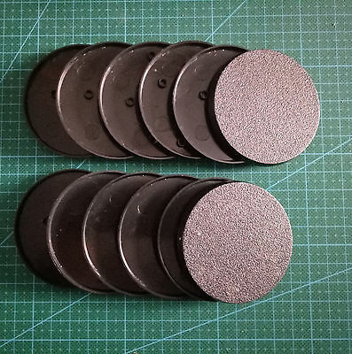 Lot-Of-12-60mm-Round-Bases-For-wargames-table games