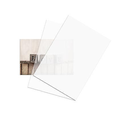 10 Blatt Transparentpapier / Pergament A4 weiß durchscheinend 110 g/m² Papier