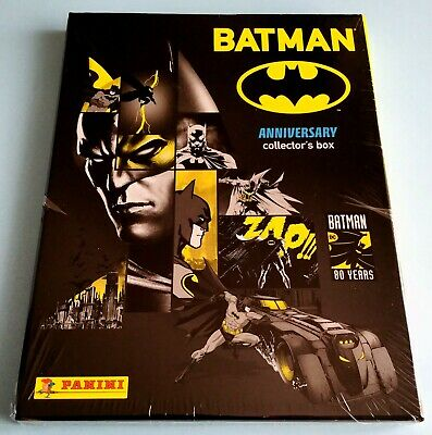 "BATMAN 80 Years ""Anniversary"" ALBUM Limited Edition Figurine PANINI Lucca Comics"