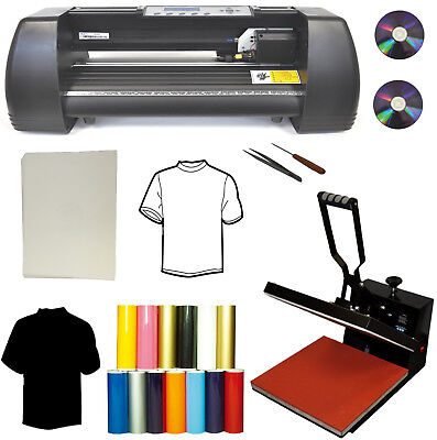 New 15x15 Heat Press14 500g Vinyl Cutter Plotterheat Transfer Paperpu Vinyl