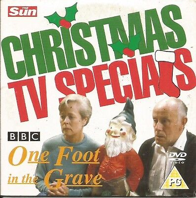CHRISTMAS TV SPECIAL - ONE FOOT IN THE GRAVE - SUN PROMO DVD (Halloween Movie Specials Tv)