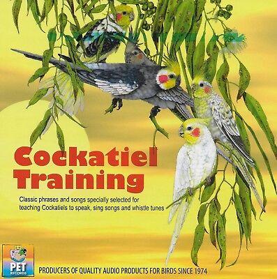 Cockatiel Training Bird Training Audio CD (Teach to Speak, Sing, & Whistle) (Teach Bird Whistle)