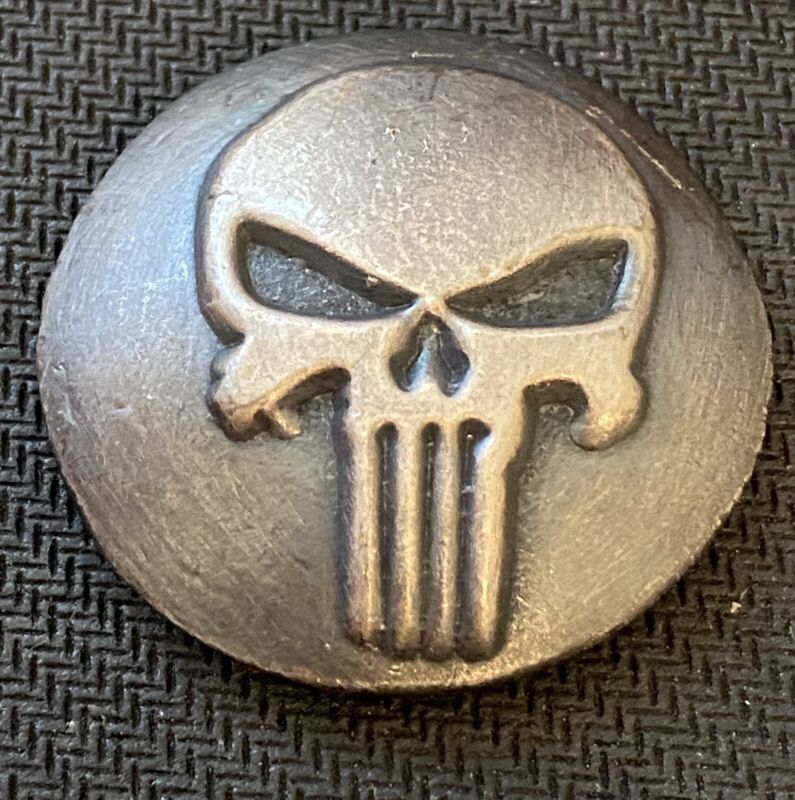 YAEGERS POURED 3 Oz SILVER PUNISHER .999 ROUND- MINTAGE 100!