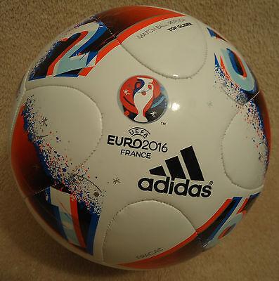 Match Ball Replica Top Glider UEFA Euro 2016 France adidas Fracas (Euro Glider Fußball-ball)
