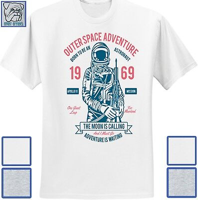 Outer Space Moon (Antique Classic Vintage Outer Space Moon Landing Apollo 11 1969 Shirt )